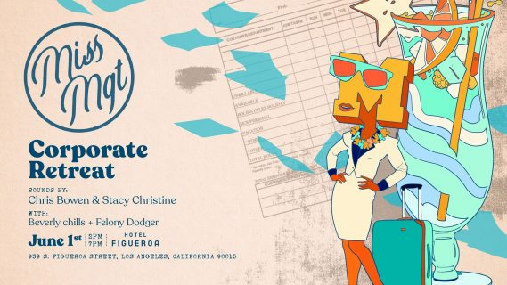 Corporate Retreat Flyer at the Hotel Figueroa