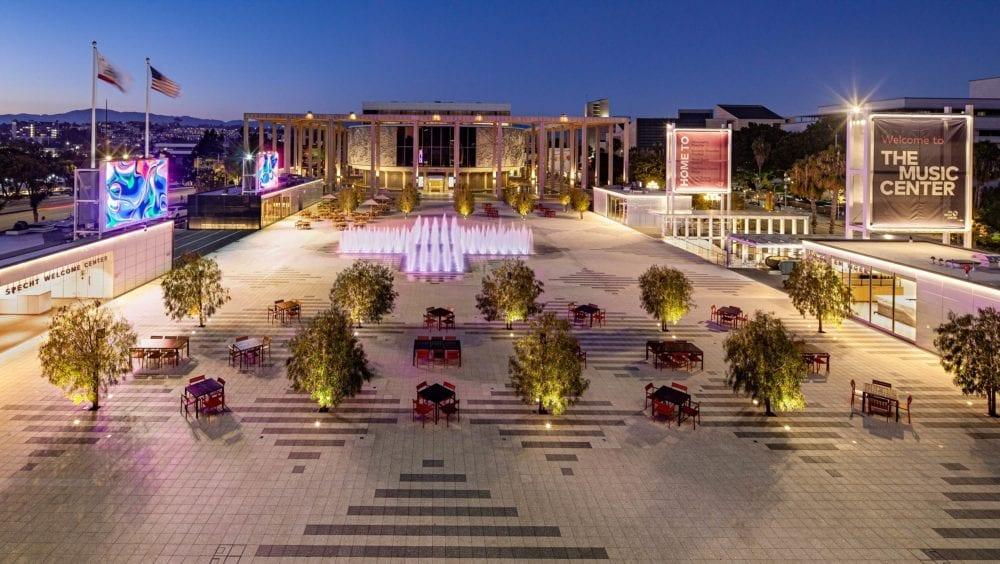 Inside The Music Center Plaza's $41 Million Dtla Makeover